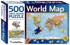 World Map 500 Piece Jigsaw
