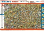 Where's Wally? In the Land of Sport Wallchart