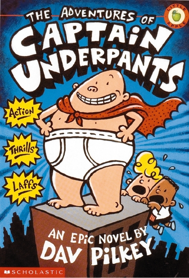The Adventures of Captain Underpants (#1)