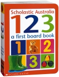 A First Board Book: 123
