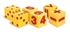 Giant Soft Cubes: Dot, Numeral and Operations Sets