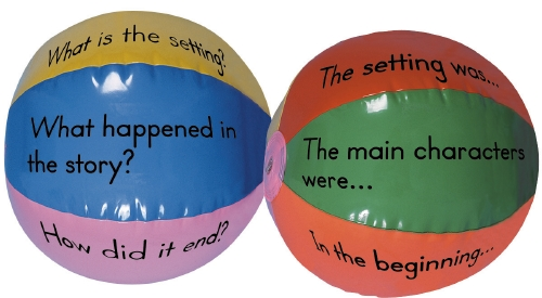 GUIDED READING BEACH BALLS     - Toy/Game