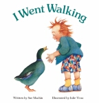 I Went Walking Board Book