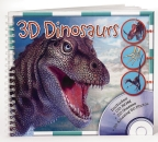 3D Dinosaurs (with CD-Rom)