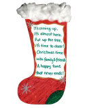 Large White Christmas Stockings (30)
