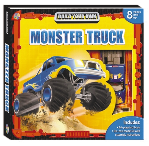The Store Build Your Own Monster Truck Book