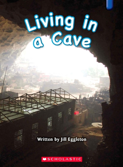 Key Links Blue 13: Living in a Cave                                                                 - Book