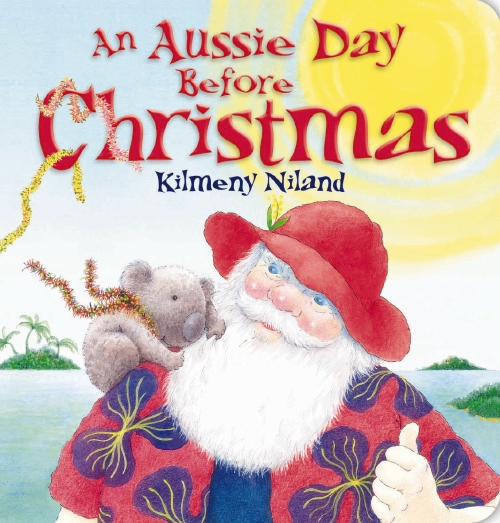 Aussie Day Before Christmas Board Book