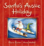 Santa's Aussie Holiday Board Book