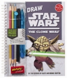 Draw Star Wars Clone Wars 6Pk