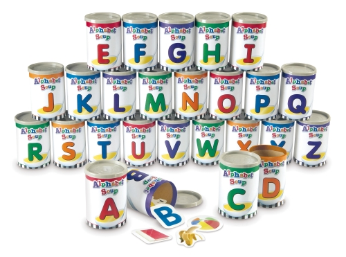 The Store - Alphabet Soup Sorters - Toy  Game