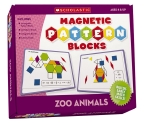 Magnetic Pattern Blocks: Zoo Animals