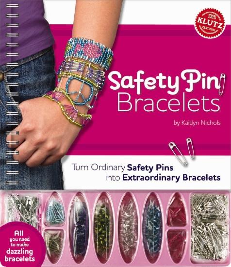 Safety Pin Bracelets