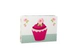 Flower Cupcake Stationery Box