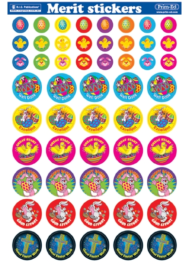 EASTER STICKERS (270)          - Stationery