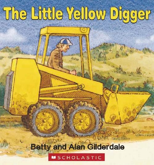 Little Yellow Digger Board Book