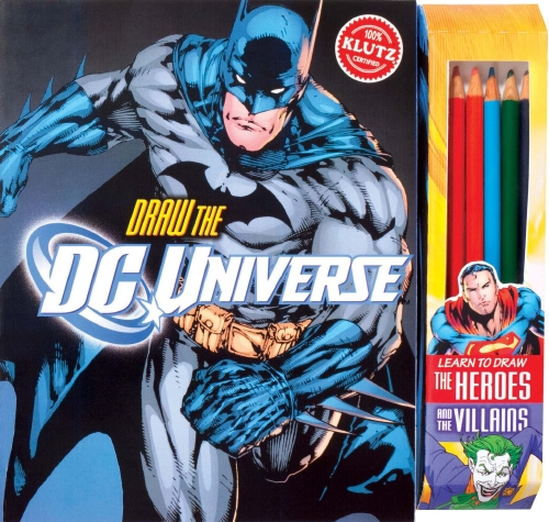 Draw the DC Universe - Book