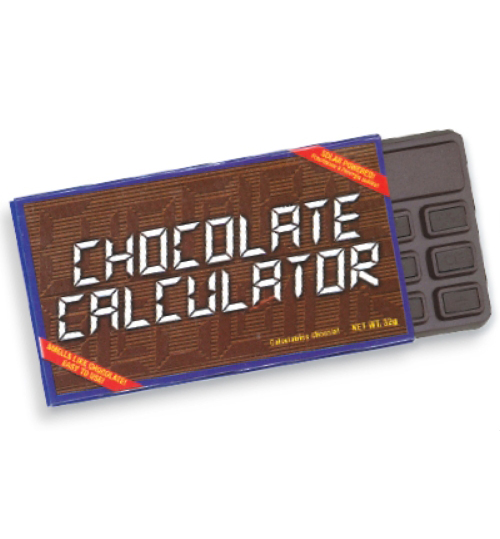 Product: CHOCOLATE CALCULATOR F11 - Toy/Game - School ...