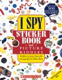 I Spy: Sticker Book and Picture Riddles