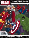 Marvel Super Heroes: Colouring Book