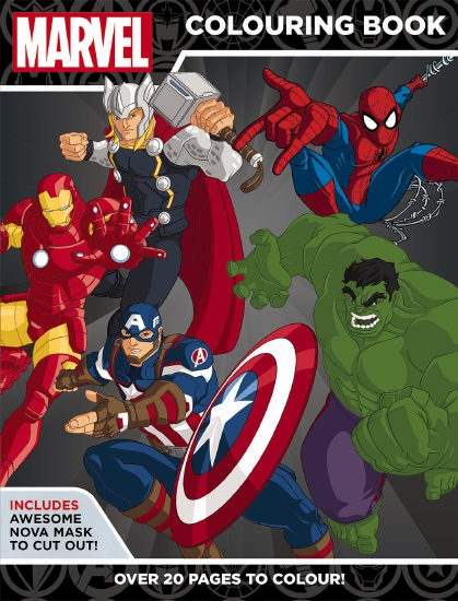 Marvel: Marvel Super Heroes Colouring Book