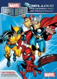 Marvel Super Heroes Deluxe Colouring and Activity Book