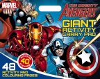 The Mighty Avengers Giant Activity Carry Pad