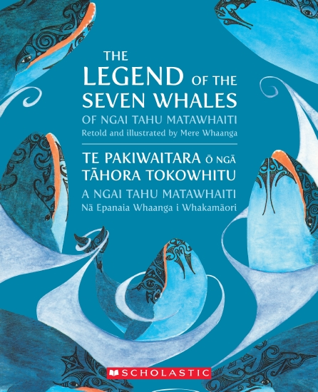 The Legend of the Seven Whales - Book