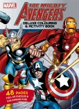 The Mighty Avengers: Deluxe Colouring & Activity Book