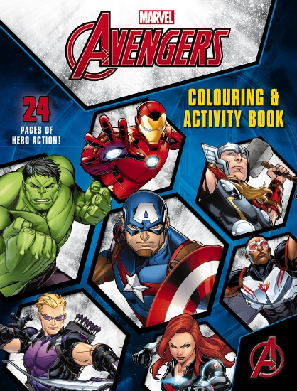 Mighty Avengers: Colouring and Activity Book