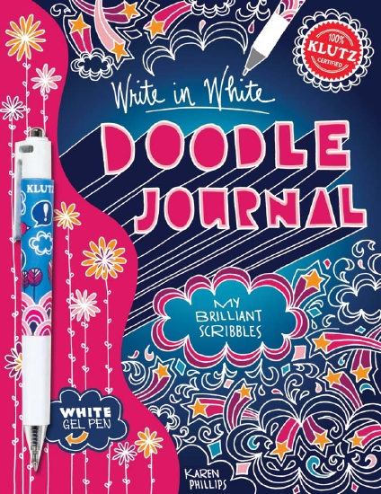 Write in White Doodle Journal 6-Pack