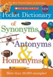 SCHOLASTIC DICT SYNONYMS,ANTON
