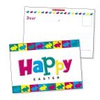 HAPPY EASTER POSTCARDS 30PKS