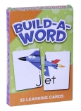 Education Learning Cards: Build-a-Word