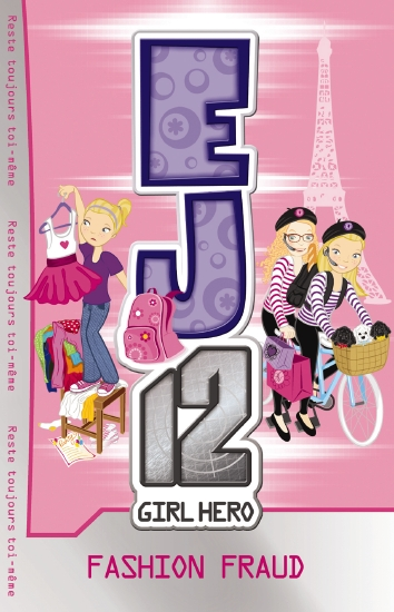 Product ej12 girl hero 13 fashion fraud book school for Bureau 13 book series