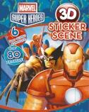 Marvel Super Heroes 3D Sticker Scene