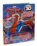 The Amazing Spider-Man 3D Sticker Scene