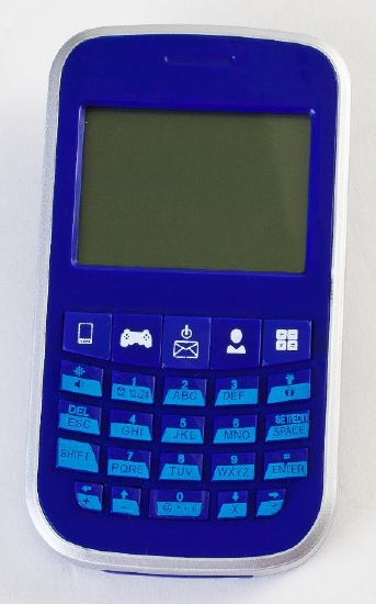 The Store Electronic Organiser Blackberry Blue Toy Game