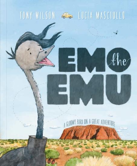 EMO THE EMU HB