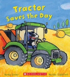 Busy Wheels: Tractor Saves the Day