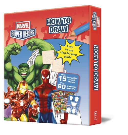 Product How To Draw Marvel Super Heroes Drawing Folder Book