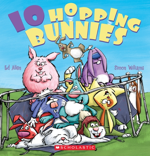 10 HOPPING BUNNIES