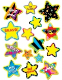 Poppin' Patterns Bright Star Stickers