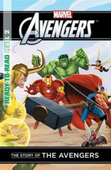 Marvel Read-to-Read Level 2: Story of the Avengers                                                   - Book