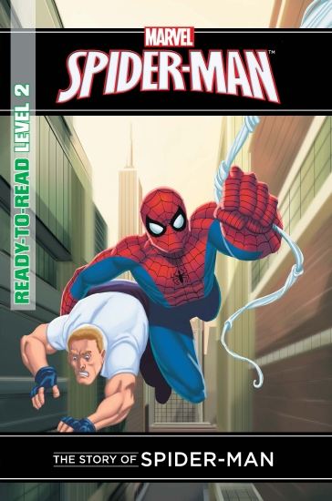 Marvel Read-to-Read Level 2: Story of Spider-Man - Book