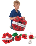 REMEMBRANCE POPPIES CRAFT KIT