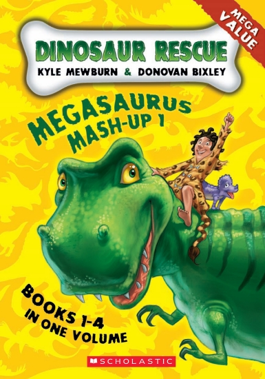 Dinosaur Rescue: Megasuarus Mash-Up 1                                                                - Book