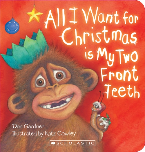 ALL I WANT FOR XMAS BOARD BOOK