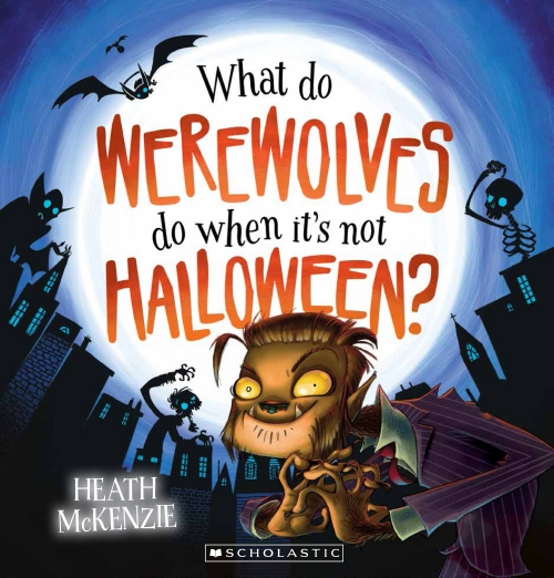 WHAT DO WEREWOLVES DO HALLOWEE