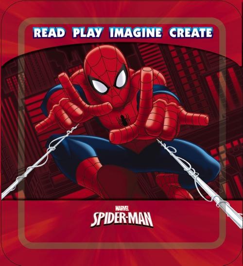 Spider-Man Read-Play-Imagine-Create Tin